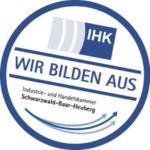 Wir bilden aus - IHK Schwarzwald-Baar-Heuberg Siegel