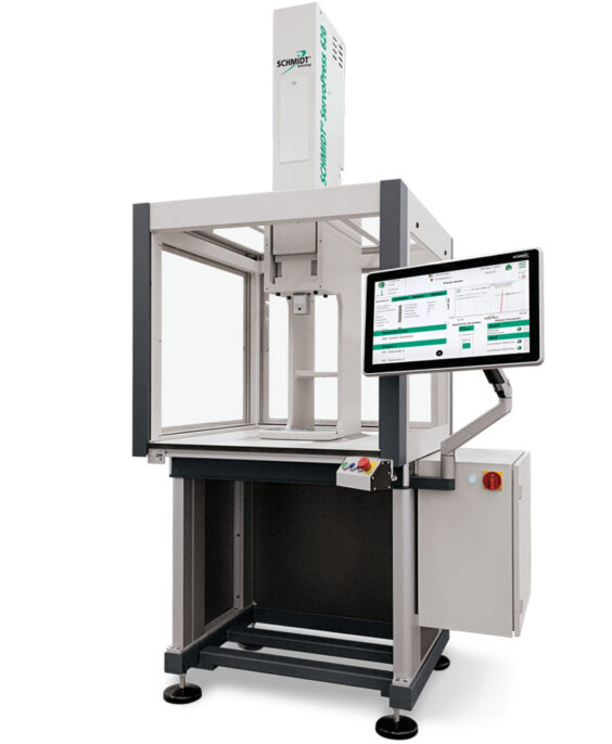 SCHMIDT® ServoPress 620 mit PressControl 7000 und Pressenuntergestell PU 40