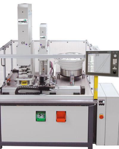 EG-baumustergeprüftes und automatisiertes Komplettsystem mit Schmidt ServoPress