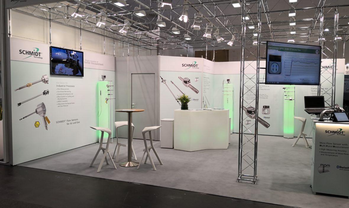 Sensorik Messestand Hannover Messe 2019