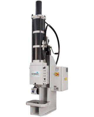 pneumatische Presse mit Kraft-Weg-Überwachung
