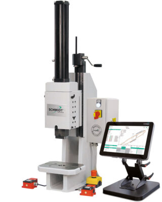 HydroPneumaticPress 361 mit PressControl 700